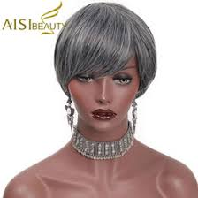 black women short grey hair short grey hair wigs for women australia new featured short grey