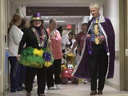 mardi gras fashion children at sacred heart hospital celebrate mardi gras with a parade