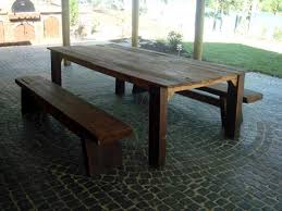 homemade wood outdoor furniture home design