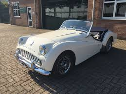 triumph tr3 a cabriolet roadster 1960 white a for sale dyler