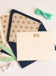 personalized stationery set of 10 custom stationery