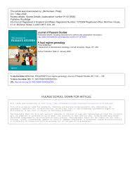 bureau de l ex ution des peines a food regime genealogy pdf available