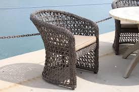 All Weather Wicker Outdoor Furniture Terrain - open weave all weather wicker side chair wicker patio furniture