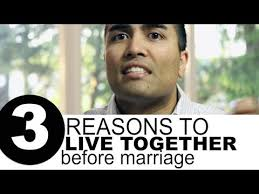 Marriage Caption 3 Reasons To Live Together Before Marriage Youtube