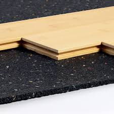 Laminate Floor Padding Underlayment Soundproof A Floor With Isostep Acoustic Underlayment