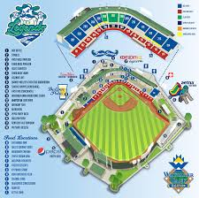 Mlb Map The Official Site Of The Lexington Legends Lexingtonlegends Com
