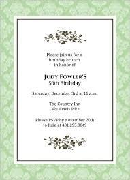 create birthday invitations free alesi info