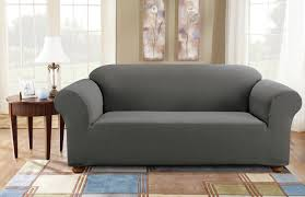 Simple Armchair Sure Fit Simple Stretch Subway Box Cushion Sofa Slipcover
