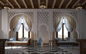 love this space design by mimar interiors islamic inspired