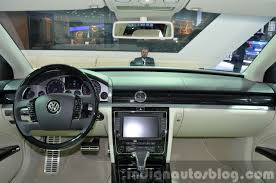 volkswagen phaeton interior 2015 volkswagen phaeton dashboard at auto shanghai 2015 indian