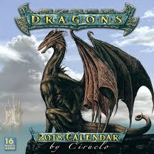 2018 dragon calendar by ciruelo dragon calendar fairyglen com