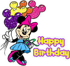 minnie mouse birthday glitter graphics the community for graphics enthusiasts