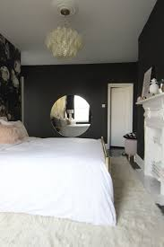 master bedroom fireplace makeover reveal sita montgomery interiors before u0026 after a london bedroom gets a dark dramatic floral