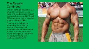 creatine u0027s effect on resistance training by josh clark ppt