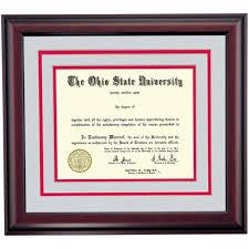 ohio state heritage diploma frame ohio state university ohio ohio state heritage diploma frame
