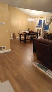 Laminate Flooring With Quarter Round Wide Plank Pergo Laminate Flooring U2013 Bonded By Wood U0026 Glue