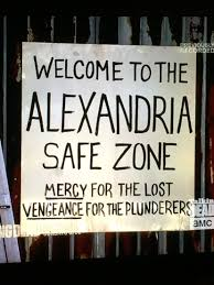 alexandria safe zone sign robert 40th birthday party pinterest