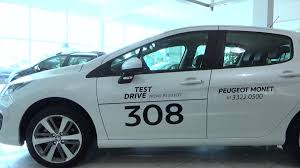 peugeot 308 thp 2016 canal top speed youtube