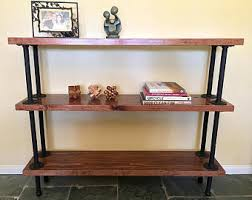 Industrial Shelving Unit by Industrial Wall Unit Pipe Shelving Unit Reclaimed Barn Wood