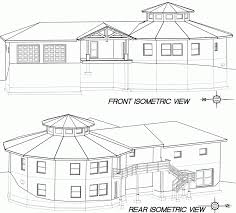View House Plans by Isometric Drawing House Plans House Plans