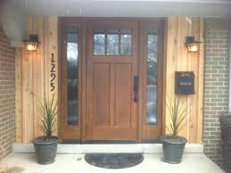 Stain Exterior Door Front Doors Contemporary Entry Detroit By Fingerle Lumber