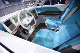 volkswagen microbus 2016 interior volkswagen budd e named north american u201c2016 concept truck of the