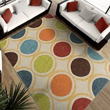 Orange And Blue Area Rug Amazing 5x7 Blue Area Rug For Outdoor Patio Or Indoor Living Room