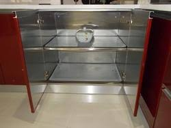 Steel Kitchen Cabinets India Bar Cabinet - Kitchen steel cabinets