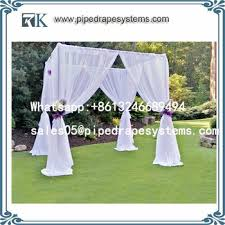 Purchase Pipe And Drape Manufacturer Pipe And Drape Wedding Stage Decoration Wedding Tent