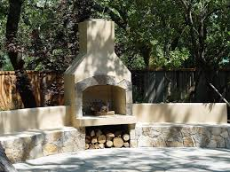 Outdoor Fieldstone Fireplace - outdoor fireplaces projects hedberg landscape and masonry