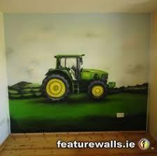 cockerel john deere tractor wall mural pinterest