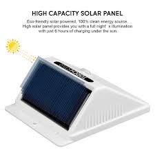 Solar Powered Motion Sensor Outdoor Light by Led Solar Powered Motion Sensor Lights Wireless Outdoor Wall