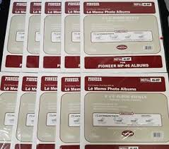 pioneer photo albums refills lot of 10 pioneer album refill packs 46 mp 4 x 6 for mp 46 100