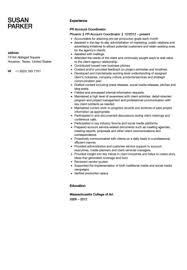 Project Coordinator Resume Examples by Public Relations Account Coordinator Resume Sample Velvet Jobs