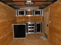 v nose enclosed trailer cabinets news v nose trailer cabinets on brand new detailing trailer auto