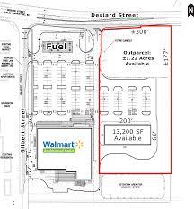 Walmart Floor Plan Property Capsule
