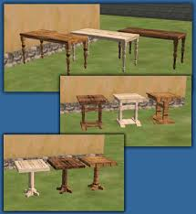 Woodworking Bench Sims by Mod The Sims Medieval Set 2 Peasant Hovel