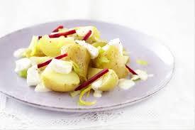 raifort cuisine recette de pommes de terre fromage de chèvre frais et betterave