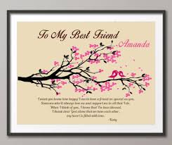 aliexpress com buy best friend quote canvas painting family tree