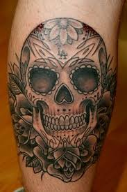 image result for sugar skull tattoos for guys ink pinterest