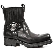 mens motorcycle sneakers m 7605 s1 black new rock motorcycle ankle boots motorcycle boots