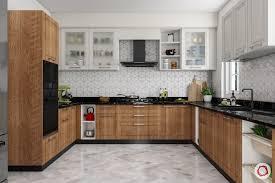 wooden kitchen design l shape 15 modern kitchens in wood finish