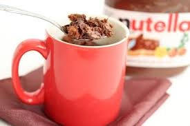 nutella lava brownie mug cake kirbie u0027s cravings