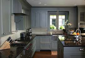 painted kitchen cabinet ideas gray harbor favorite paint pleasing blue grey painted kitchen
