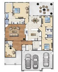 the andrew 2207 floor plan for new homes