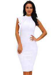 sheath dress falbala sleeveless women s sheath dress tbdress