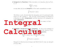 calculus integral calculus problem set i the learning point