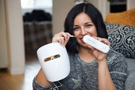 neutrogena light therapy acne mask before and after learn how to use the new neutrogena light therapy acne mask love