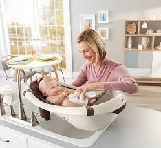Baby Born Bath And Shower Amazon Com Fisher Price Calming Waters Vibration Bathing Tub