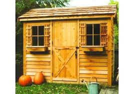 Backyard Wood Sheds by European Styled Wood Sheds Lowest Prices Storageshedsoutlet Com